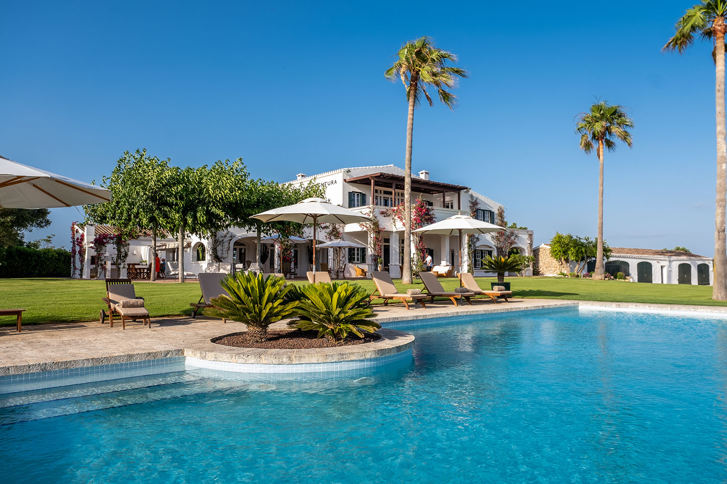 Ultra luxury villa to rent in menorca. Past guests include Michelle Obama.