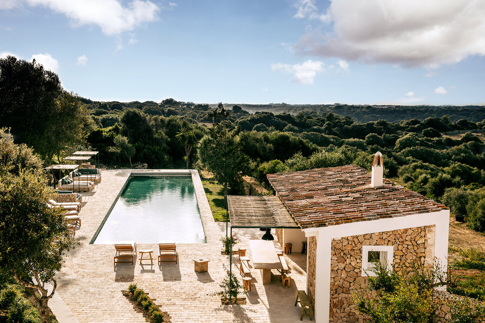 Secluded luxury villa to rent in Menorca