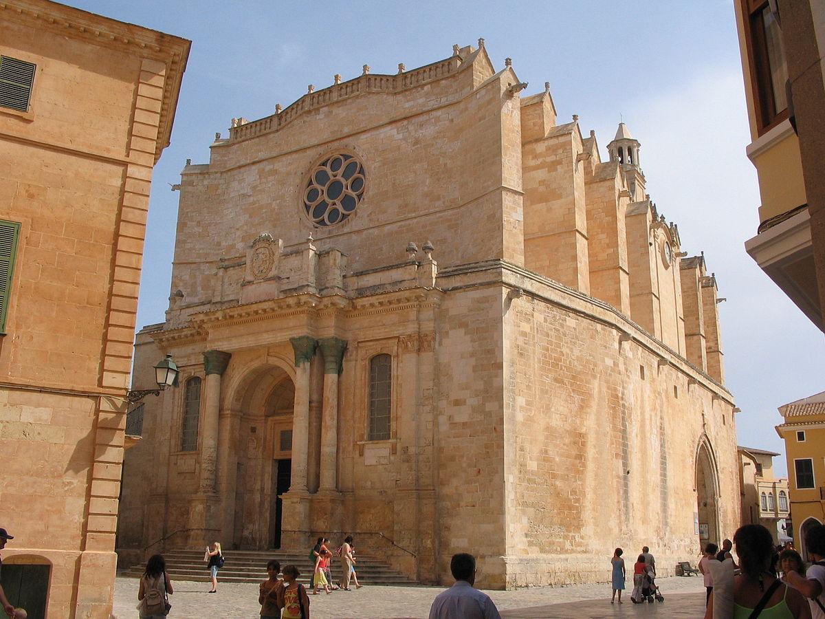 Ciutadella Cathedral in Menorca