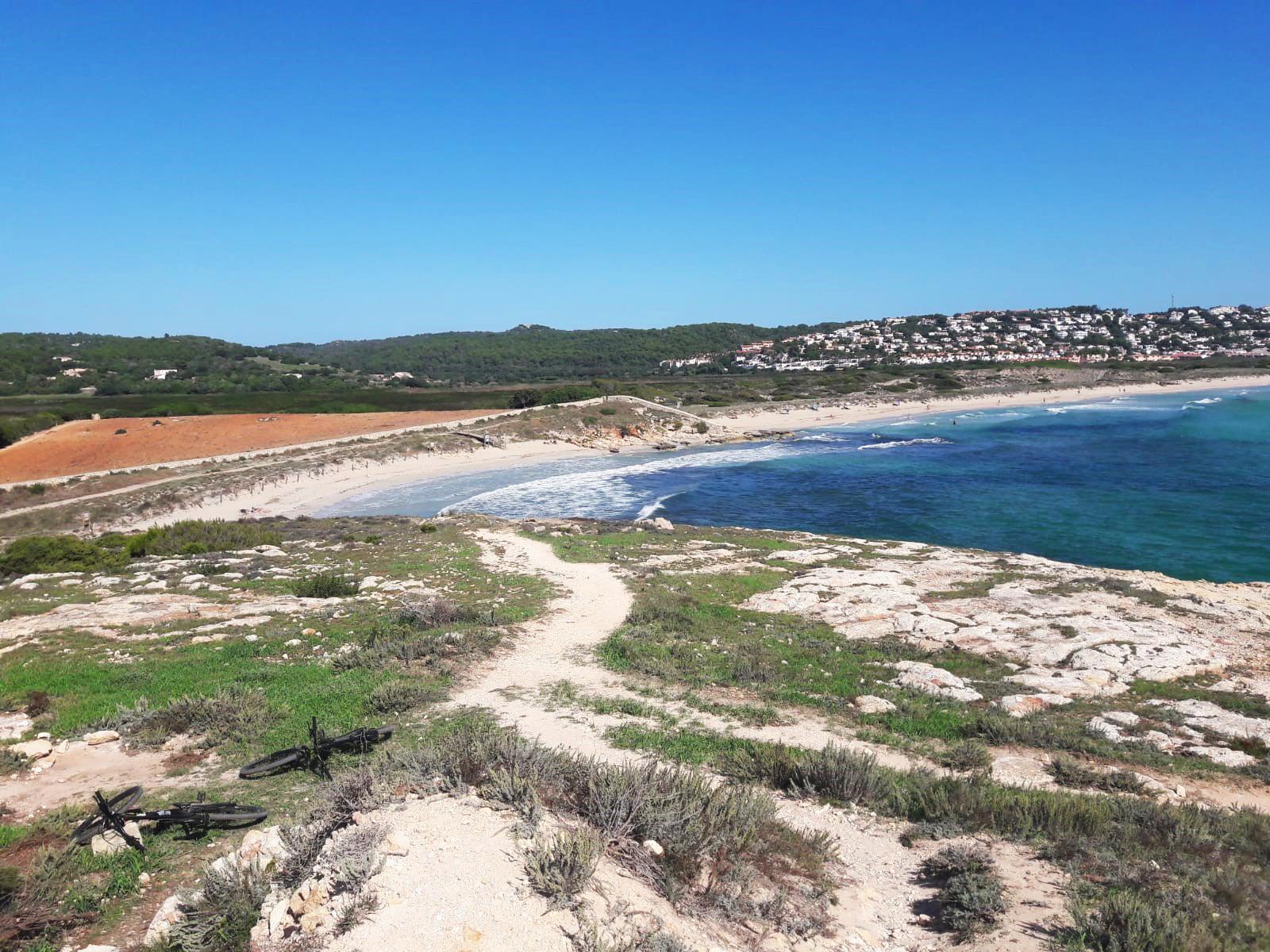 South coast views in Menorca