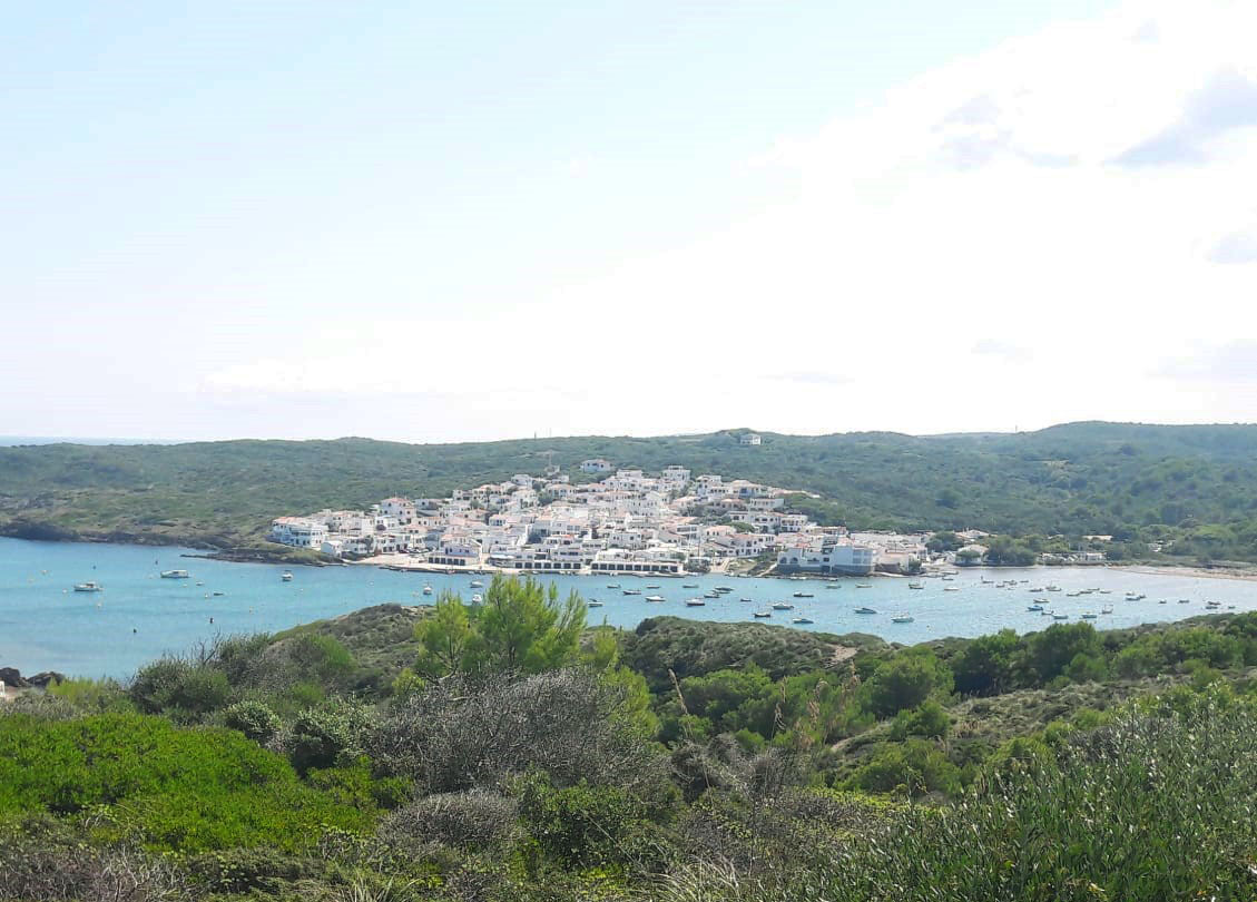 The views from coastal walk in Menorca