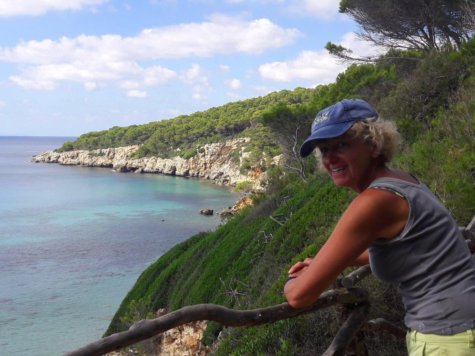 Lin with coastal views in Menorca