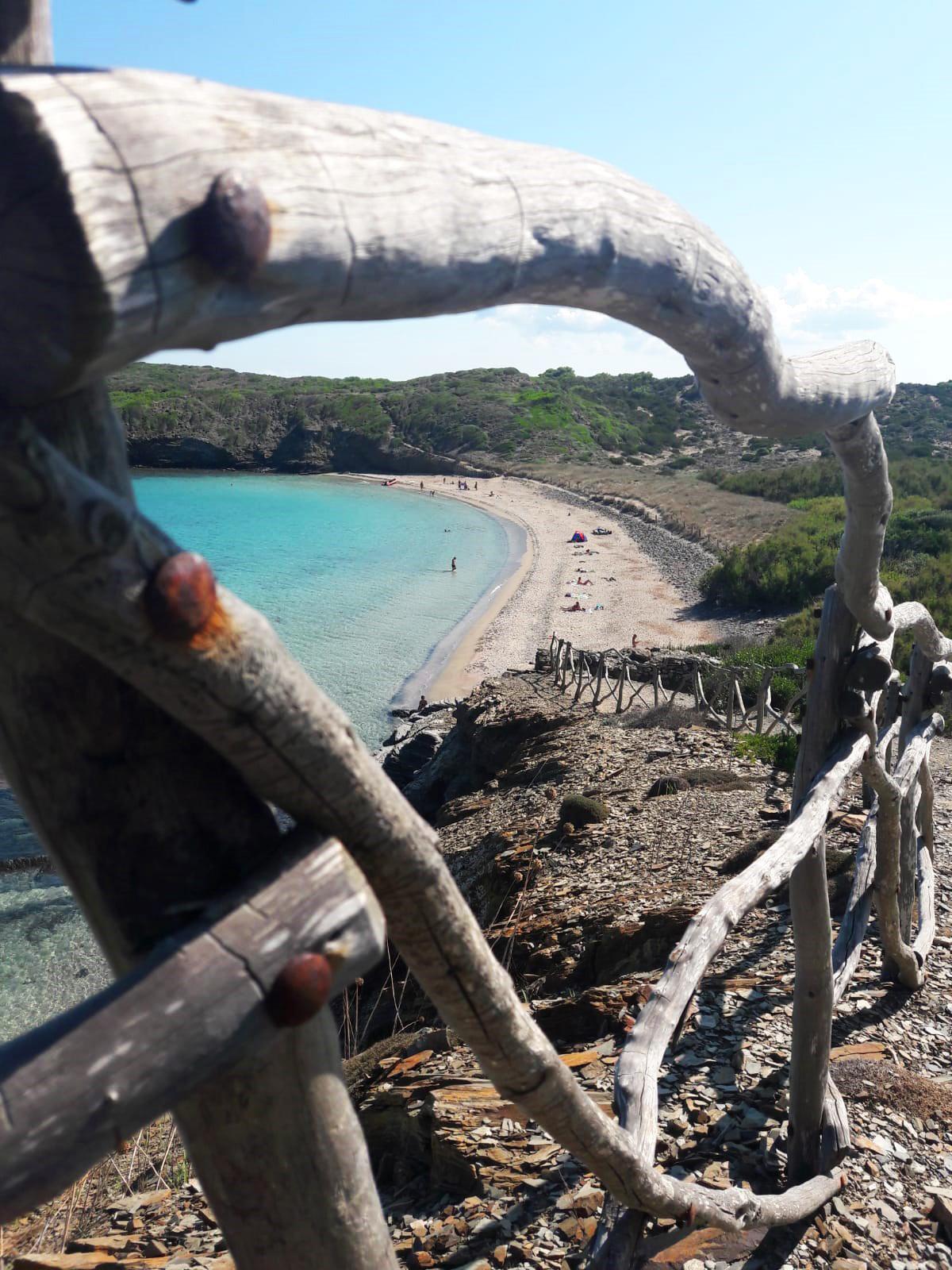 Views from coastal walk in South Coat of Menorca