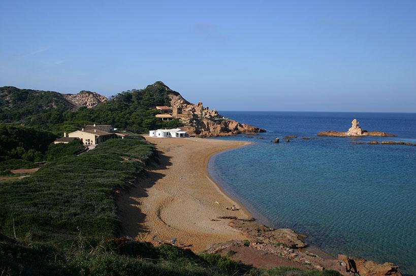 Cala Pregonda in Menorca