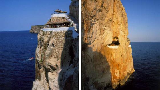 Cova d'en Xoroi in Menorca