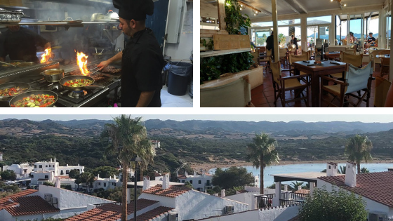 Bar Okapi in Fornells Menorca