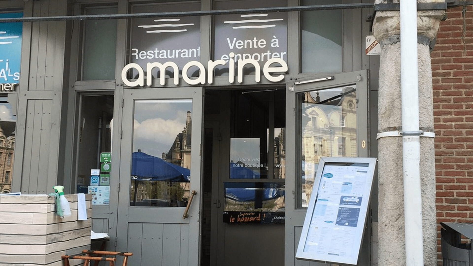 Restaurant Amarine in Arras
