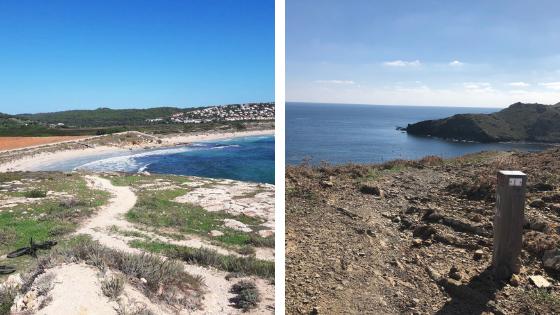 Cami de Cavalls routes in Menorca