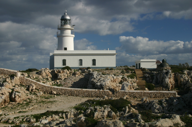 Cavalleria Lighthouse in Menorca
