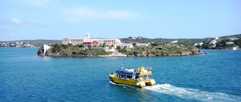 Yellow Catamaran Ride in Menorca