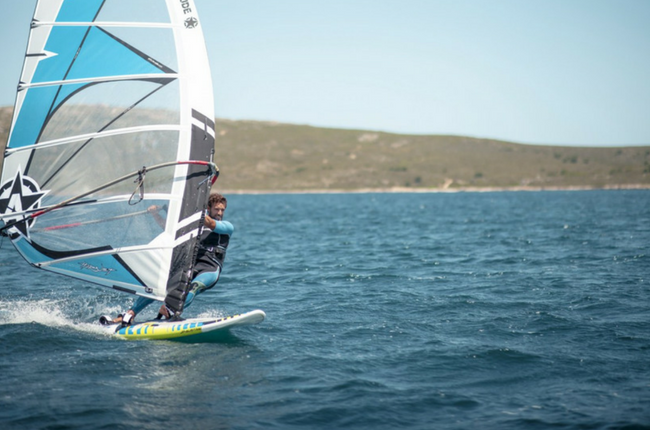 Wind Surfing in Menorca