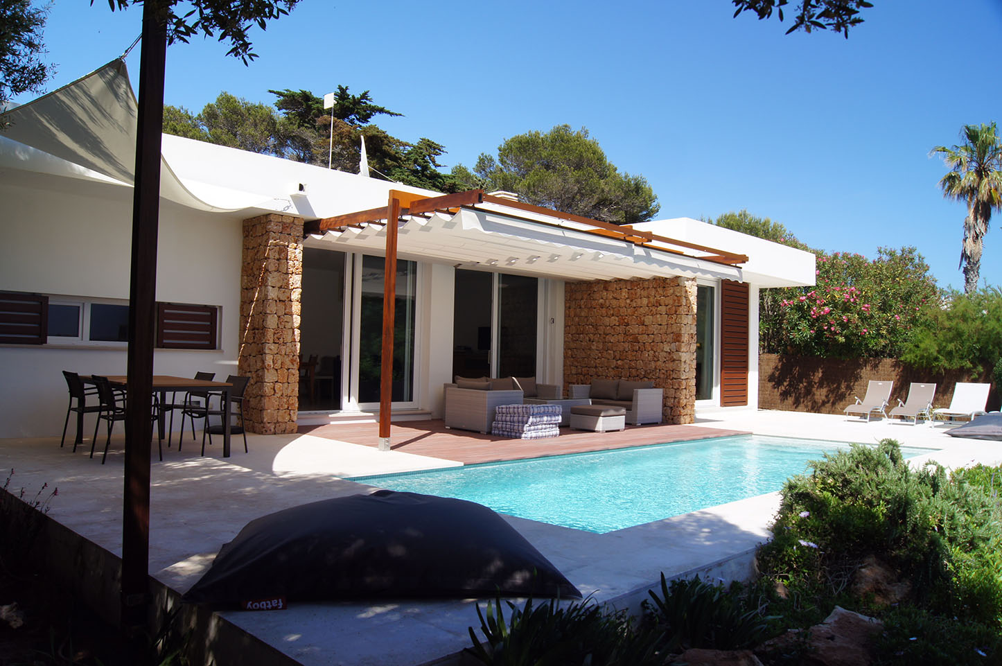 Villas by the beach in Menorca
