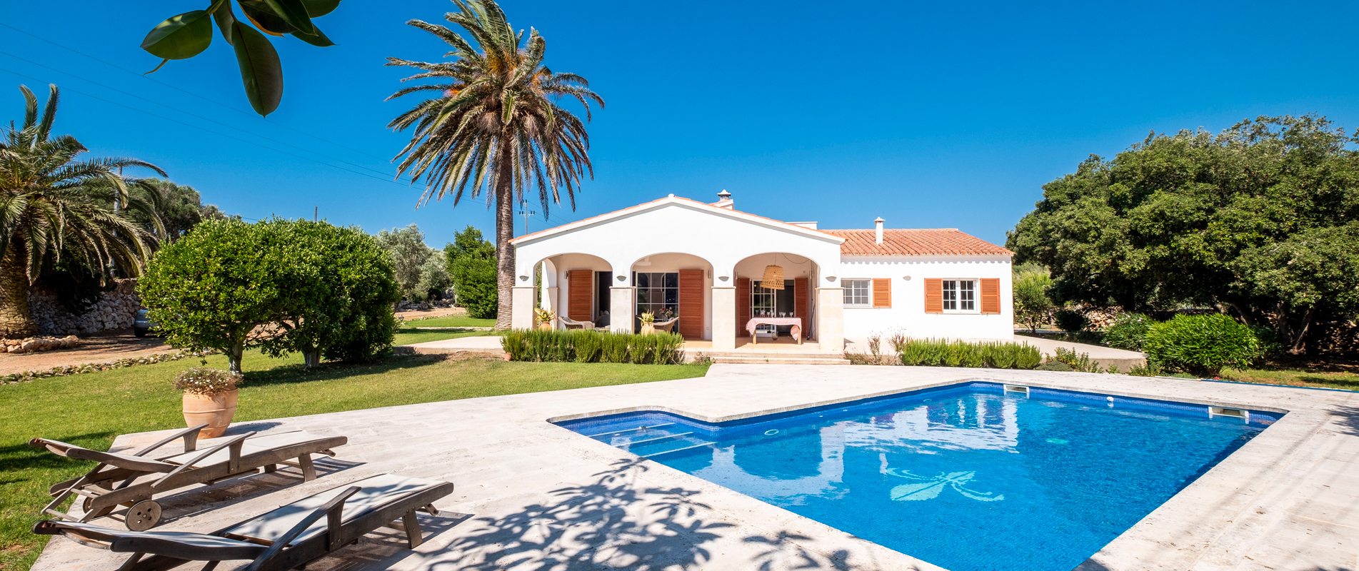 Villas best for kids in Menorca
